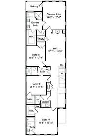 narrow homes floor plans long narrow house plans fashionable design floor plans for long