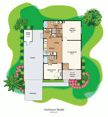 Florida Home Floor Plans Sunflower Fp Gif