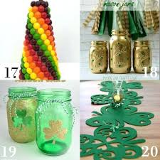 party decorations to make at home st patricks day home decorations ezpass club