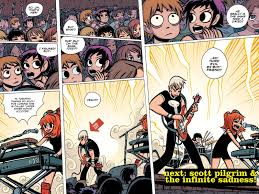 comic book color scott pilgrim viewcomic reading comics online for free