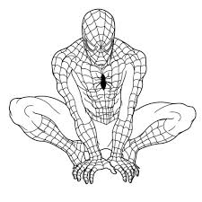 printable coloring pages spiderman free printable spiderman coloring pages for kids spiderman color