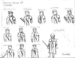 concept ranger fallout oc ncr ranger conner concept art by dasirgamealot on