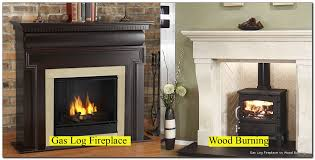 gas log fireplace vs wood burning beinside net