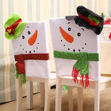 snowman chair covers popular snowman table decorations buy cheap snowman table