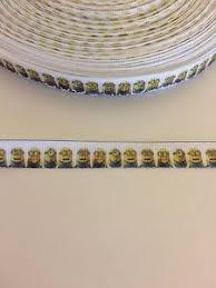 minion ribbon minion ribbon 3 8 wide 2m is only 1 29 new uk seller free p p ebay