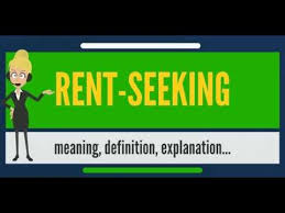 Seeking Meaning What Is Rent Seeking What Does Rent Seeking Rent Seeking