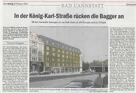 Post Bad Cannstatt Hotelneubau An Der König Karl Str In Bad Cannstatt Planquadrat