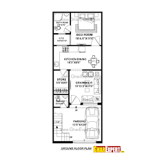 Drawing House Plans House Plan For 17 Feet By 45 Feet Plot Plot Size 85 Square Yards