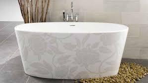 Kohler Bath Shower Combo White Floral Pattern Of Small Bathtub With Stainless Kohler Faucet