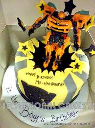 transformers bumblebee and optimus party cake topper the sensational cakes transformer bumble bee theme cake singapore
