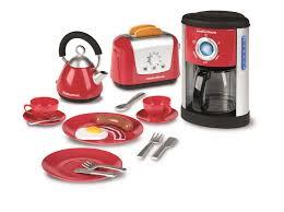 Play Kitchen Red Amazon Com Casdon Little Cook Morphy Richards Kitchen Set Toys