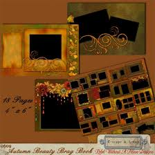 4x6 brag book autumn beauty 4x6 brag book set wow get this 18 page photo