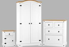 wardrobe white pine bedroom furniture awesome single door pine