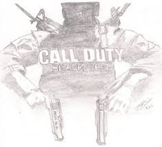 Call Of Duty Black Ops Drawing Denilson 63 2018 Nov 23 2011 Call Of Duty Black Ops Coloring Pages