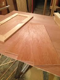 how to cut cabinets panels how to make simple shaker cabinet doors in 4 steps
