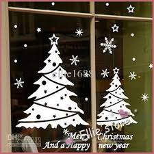 Christmas Window Decorations Stickers by Merry Christmas Decorations Learntoride Co