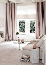 Pale Pink Curtains Projects Idea Of Pale Pink Curtains Decor Curtains