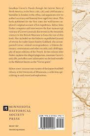 Minnesota travel journals images Journals of jonathan carver jonathan carver john parker jpg