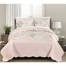 simply shabby chic king quilt 100 cotton pink floral ebay
