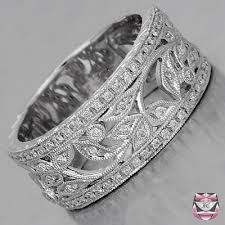 wide wedding bands jewelry rings nouveau wedding band