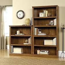 Weathered Bookcase Bookcase Oak Finish Bookcase With Doors Light Oak Finish