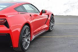 corvette zero 1 c7 zero1 corvette stingray side rocker panels carbon flash 2014 15