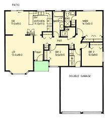 3 bedroom bungalow floor plan 3 bedroom bungalow home plan 67706mg architectural designs