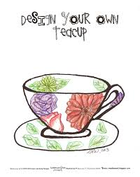 learn and grow designs website free design a teacup coloring page