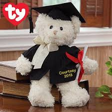 personalized graduation teddy personalized graduation ty 14 so great