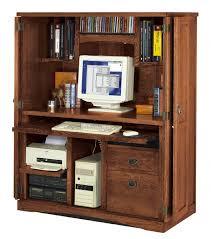 hidden office desk shop oak hidden office computer armoire for only 1292