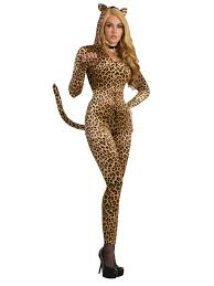 leopard halloween costume women u0027s leopard jumpsuit costume costume supercenter on sale