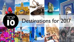 top 10 destinations 2017 flight centre canada
