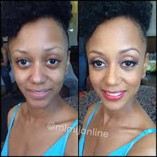 makeup artist online atlanta makeup artist mimi j online before after