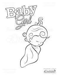 free baby coloring pages baby free printable coloring page