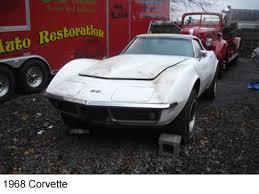 corvette restoration shops 1968 corvette restoration keiths auto restoration and rod shop