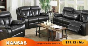 canapé inclinable kansas canapé inclinable électrique prillo furniture stores