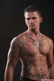 tribal on chest and right half sleeve viewer com