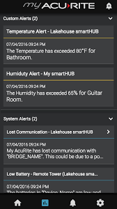 my acurite android app