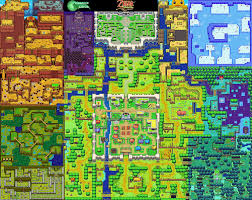 Wind Waker Map Reddit User Shows Off The Minish Cap U0027s Overworld Map U2013 Zelda Informer