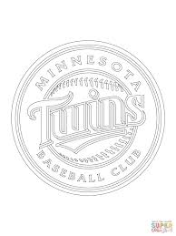 minnesota twins logo coloring page free printable coloring pages