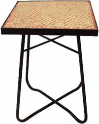 ivory accent table spectacular deal on enterprises brick mosaic square side accent