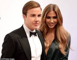 Mario Gotze Hairstyle Bayern Munich U0027s Mario Gotze Attends Audi Night With Wife Ann