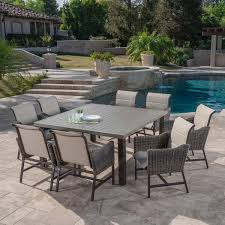 9 Piece Patio Dining Set - brandemore 9 piece dining set by mission hills