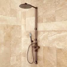 Moen Oil Rubbed Bronze Shower Head Cleaning Moen Shower Head Delta In2ition Two In One 5 Spray Hand