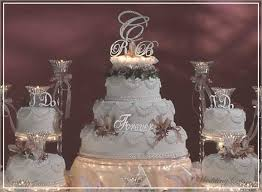 fancy wedding cakes fancy wedding cakes with initials cake toppers are among the