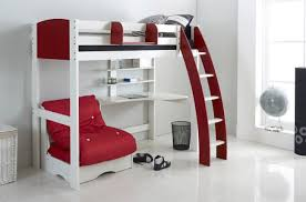 High Sleeper With Futon High Sleepers With Futon And Desk Ideas 1 An Alternative