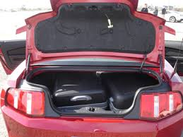 mustang trunk space tips for renting a car for a road trip