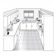 les diff駻ents types de cuisine plan type cuisine en l idée de modèle de cuisine
