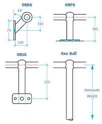 Tubular Handrail Standards Handrail U0026 Stanchion Components