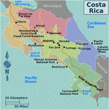 Orlando On Map by Costa Rica U2013 Travel Guide At Wikivoyage
